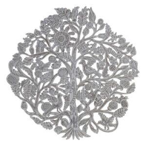Decoração de Parede Dekodonia Índio Árvore 90 x 1 x 90 cm