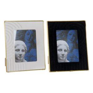 Moldura de Fotos Dekodonia Madeira Flocado (2 pcs) (13 x 18 cm)