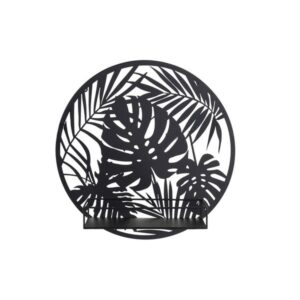 Decoração de Parede Dekodonia Prateleira Metal Tropical (40 x 11 x 40 cm)