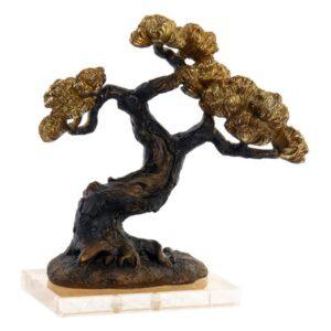 Figura Decorativa Dekodonia Acrílico Resina Árvore (26 x 13 x 27 cm)