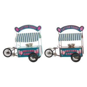 Fabricado à Mão - 2 Veículos Dekodonia Cotton Candy Decoração Vintage (32 x 13 x 28 cm)