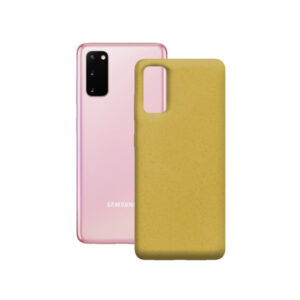 Capa para Telemóvel KSIX Samsung Galaxy S20 Eco-friendly Amarelo