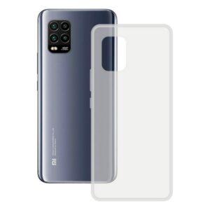 Capa para Telemóvel Xiaomi Mi 10 Lite KSIX Flex Tpu Transparente