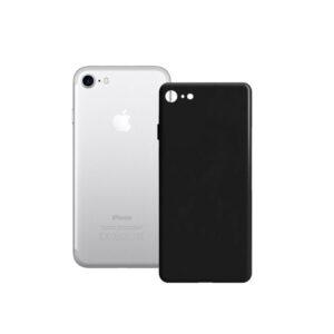 Capa para Telemóvel iPhone SE 2020 Contact Silk TPU Preto