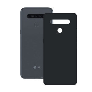 Capa para Telemóvel LG K41S Contact Silk TPU Preto