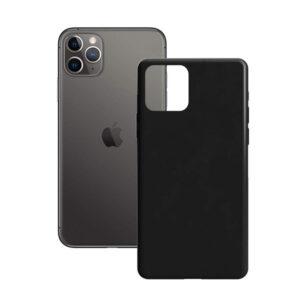 Capa para Telemóvel iPhone 11 Pro Max Contact Silk TPU Preto
