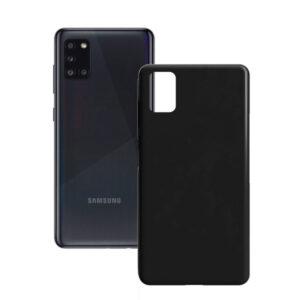 Capa para Telemóvel Samsung Galaxy A31 Contact Silk TPU Preto