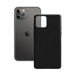 Capa para Telemóvel iPhone 11 Pro Contact Silk TPU Preto