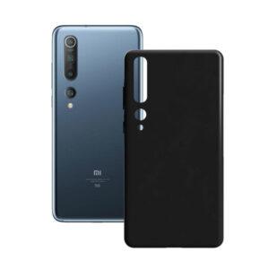 Capa para Telemóvel Xiaomi Mi 10 Contact Silk TPU Preto