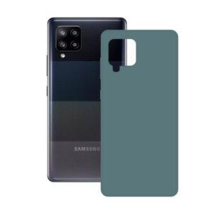 Capa para Telemóvel Samsung Galaxy A42 KSIX Silk TPU Verde