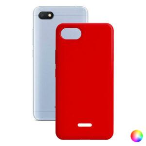 Capa para Telemóvel Xiaomi Redmi 6a Contact Silk TPU Vermelho