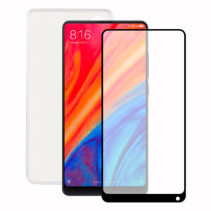 Protetor de vidro temperado para o telemóvel + Estojo para Telemóvel Xiaomi Mi Mix 2S Contact