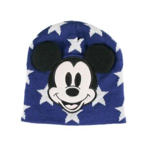 Gorro Infantil Mickey Mouse Azul Marinho