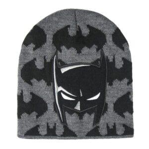 Gorro Infantil Batman Preto