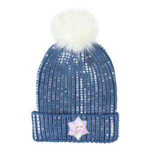 Gorro Infantil Frozen Azul Marinho