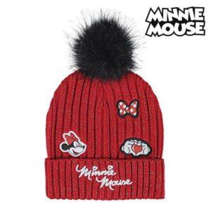 Gorro Infantil Minnie Mouse Vermelho