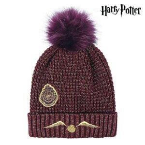 Gorro Infantil Harry Potter Castanho-avermelhado