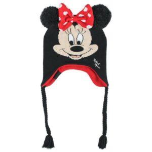 Gorro Infantil Minnie Mouse Preto