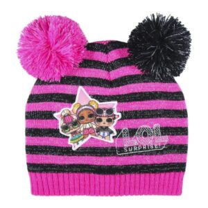 Gorro Infantil LOL Surprise! Fúcsia