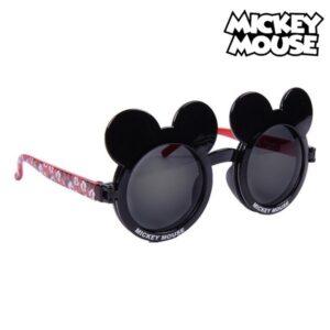 Óculos de Sol Infantis Mickey Mouse Preto Vermelho