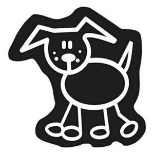 Adesivo para Carros Family Cão