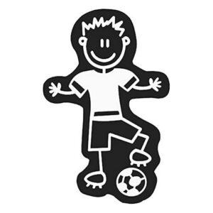 Adesivo para Carros Family Homem Bola de Futebol