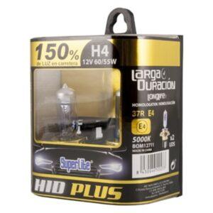 Lâmpada Automotiva Superlite HID PLUS H4 12V 55/60W 5000K 37R/E4