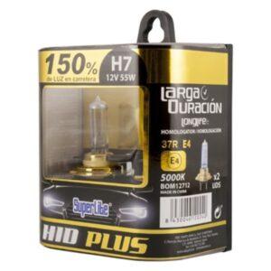 Lâmpada Automotiva Superlite BOM12712 H7 12V 55W 5000K 37R/E4