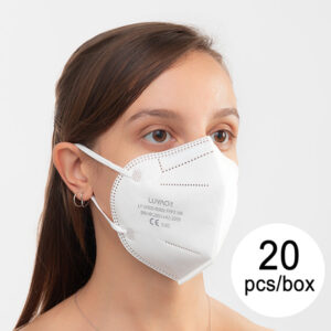 20 Máscaras de Proteção Respiratória FFP2 NR LY-N900-N909