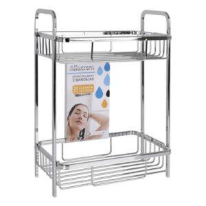 Prateleira de Casa de Banho Confortime Alumínio (29 x 18 x 40 cm)