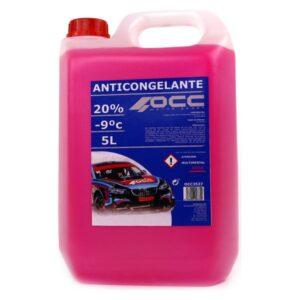 Anticongelante OCC3537 20% Cor de Rosa (5 L)