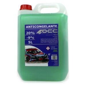Anticongelante OCC3538 20% Verde (5 L)