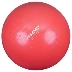 Avento Bola de fitness/ginásio 55 cm de diâmetro rosa - PORTES GRÁTIS