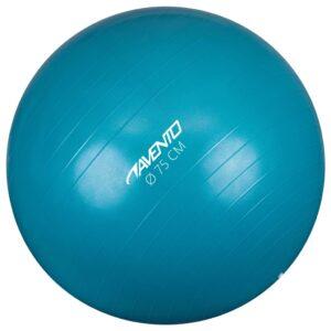 Avento Bola de fitness/ginásio 75 cm de diâmetro azul - PORTES GRÁTIS