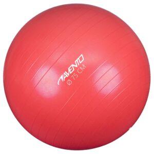 Avento Bola de fitness/ginásio 75 cm de diâmetro rosa - PORTES GRÁTIS