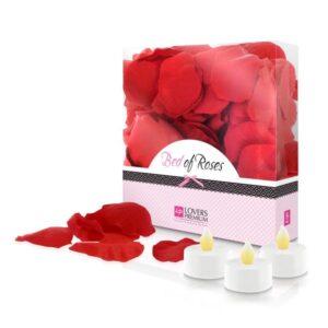 Pétalas de Rosa Bed of Roses Vermelho LoversPremium E22002 (100 uds)