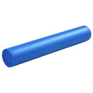 Rolo de ioga 15x90 cm espuma EPE azul  - PORTES GRÁTIS