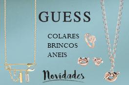 Joalharia - Guess® - Colares - Brincos - Anéis