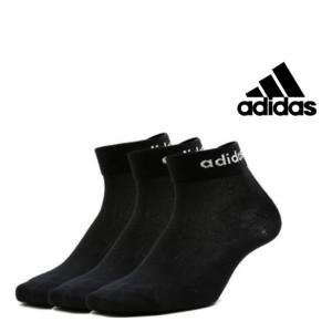 Adidas® Pack 3 Pares de Meias -Tamnho 35-38