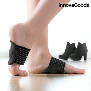 Suporte almofadado para planta do pé com faixa elástica InnovaGoods (Conjunto de 2)
