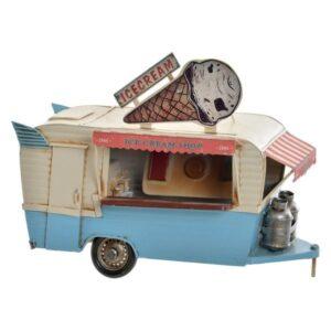 Fabricado à Mão - Veículo Dekodonia Food Truck Vintage (27 x 13 x 20 cm)