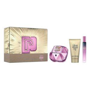 Conjunto de Perfume Mulher Lady Million Empire Paco Rabanne EDP (3 pcs)