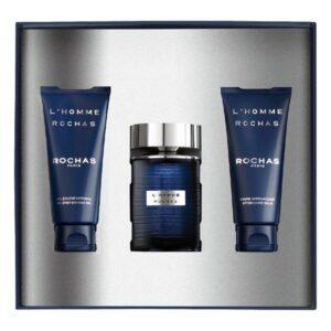 Conjunto de Perfume Homem L'Homme  Rochas EDT (3 pcs)