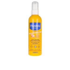 Protetor Solar para Crianças em Spray Bébé Sol Mustela Spf 50+ (200 ml)