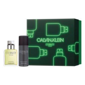 Conjunto de Perfume Homem Eternity  Calvin Klein EDT (2 pcs)