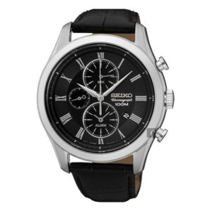 Relógio masculino Seiko SNAF71P1 (ø 44 mm)