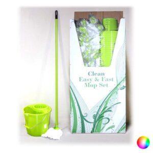 4 Peças Kit de Limpeza  Azul