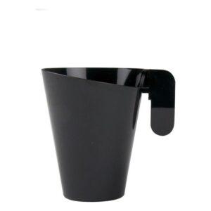 Conjunto de 12 Chávenas de Café Goldplast Plástico Preto  (155 ml)