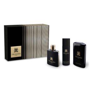 Conjunto de Perfume Homem Uomo Trussardi EDT (3 pcs)