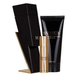 Conjunto de Perfume Homem Carolina Herrera EDT (3 pcs)